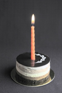 BT 2010 Birthday Candle